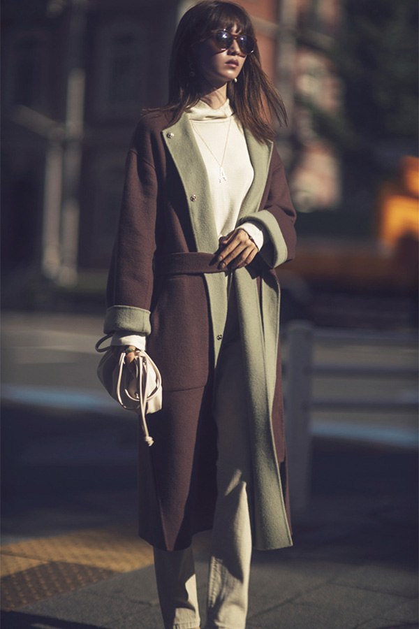 できるだけ着続けたいから 賞味期間が長い〝相棒〟コートを選んでみる。