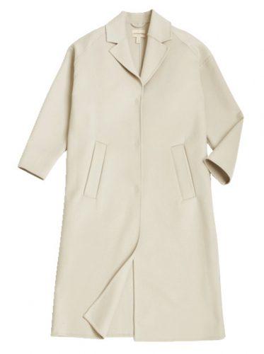 H&M白コート