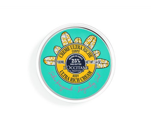 L'OCCITANE(ロクシタン)/ハピネススマイル シア リッチボディクリーム(100ml ¥3,900)