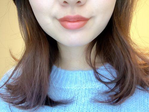 落ちない色っぽリップ♡セザンヌの赤みブラウン