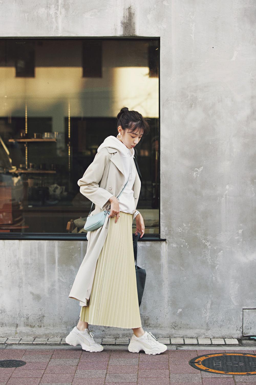 MERCURYDUO の プリーツスカート