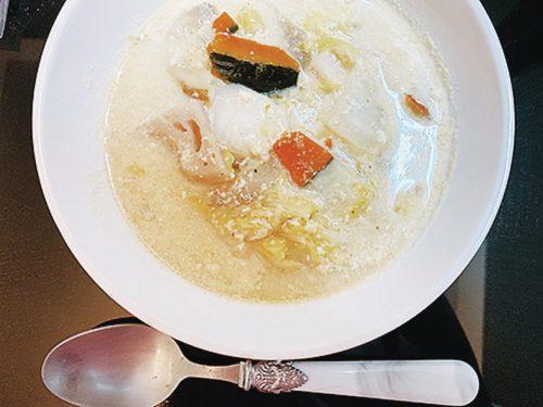 豆乳鍋(松村沙友理)
