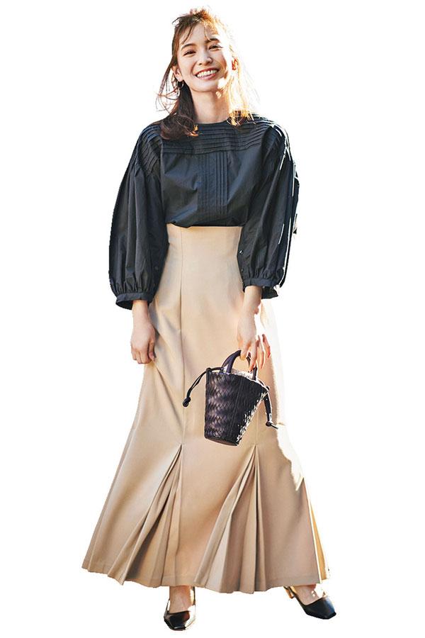 大人フェミニン ほのか『体のラインをキレイに見せたいからマーメイドスカート』