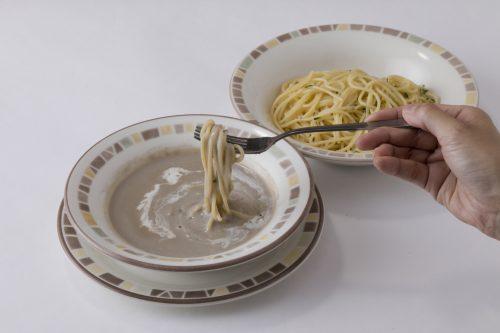 「イタリア風つけ麺」