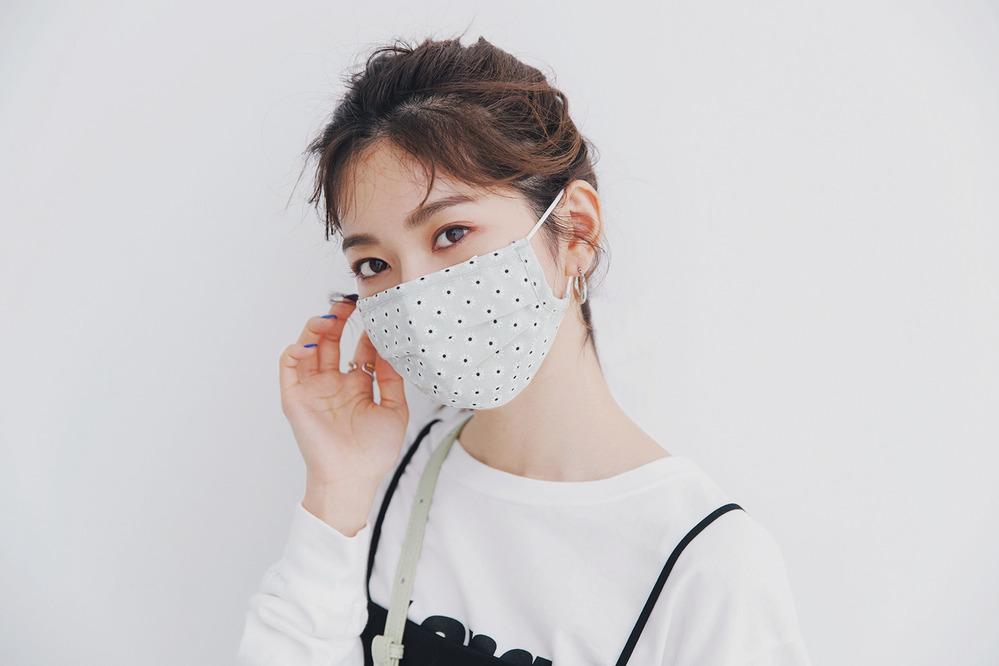 柄マスク(顔アップ)