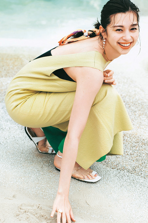 コンサバ系夏ファッション