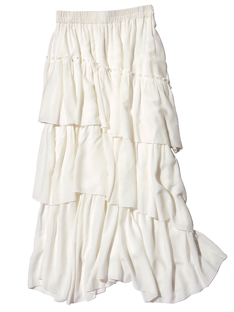 白いロングスカート