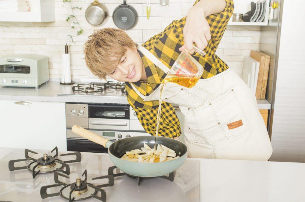 BOYS AND MEN ボイメン 小林豊 ゆたクッキング CanCam  料理男子 ポテトフライ