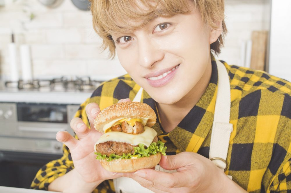 BOYS AND MEN ボイメン 小林豊 ゆたクッキング CanCam  料理男子 ハンバーガー ゆたバーガー