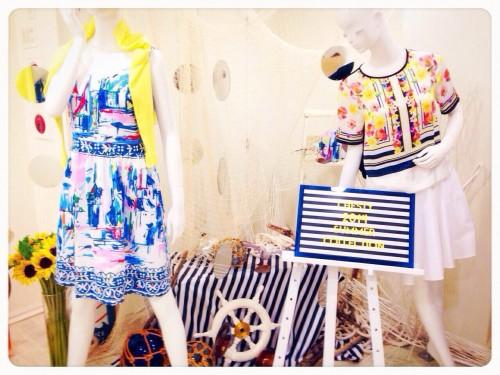 """【2014SS展示会】Chestyの夏は""""エレガントマリン""""でカラフルに!"""
