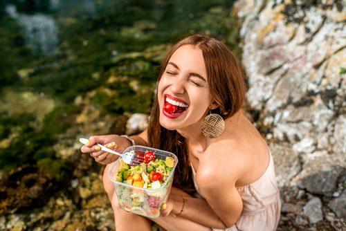 食べる,幸せ