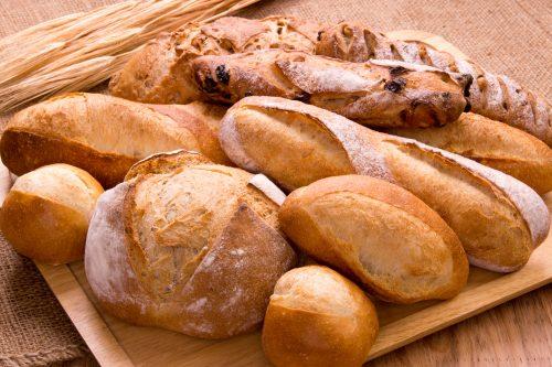 パン,朝食